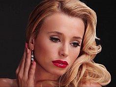 Czech girl posing for Playboy