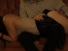 Long spanking session between Ninja and Trouble