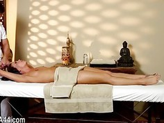 Poor glamours banged hard in special masseur