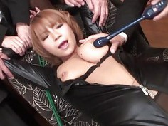 Chap is japanese babes perky large boobs wildly