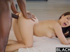 Jynx Maze getting fucked by a black businessman