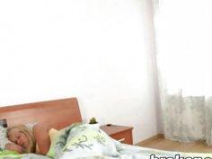 Russian Step Sis Carolien Takes Schlong In Bedroom