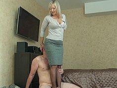 Humiliating orgasm
