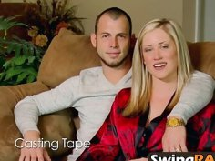 Swingers giving oral pleasure in reality show