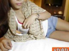 Amateur Asian Teen Riding Big Schlong In Hotel Room