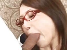 Rino Mizusawa licked on vagina