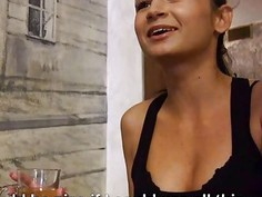 Kinky Czech girl screwed by pervert stranger for some money