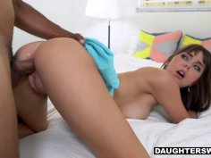 Shae Celestine calls for her friend's daddy to fuck her peach